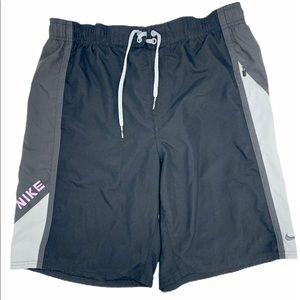 NIKE Sports Swim Wear Mesh pocket Men Short Large